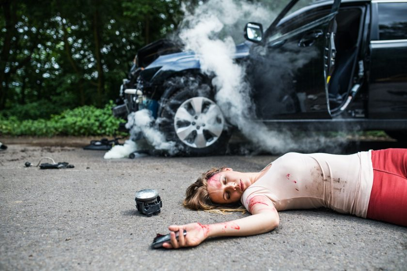 what to do if someone dies in a car accident
